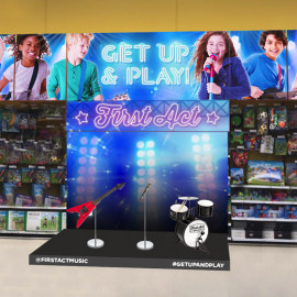 First Act Interactive Display